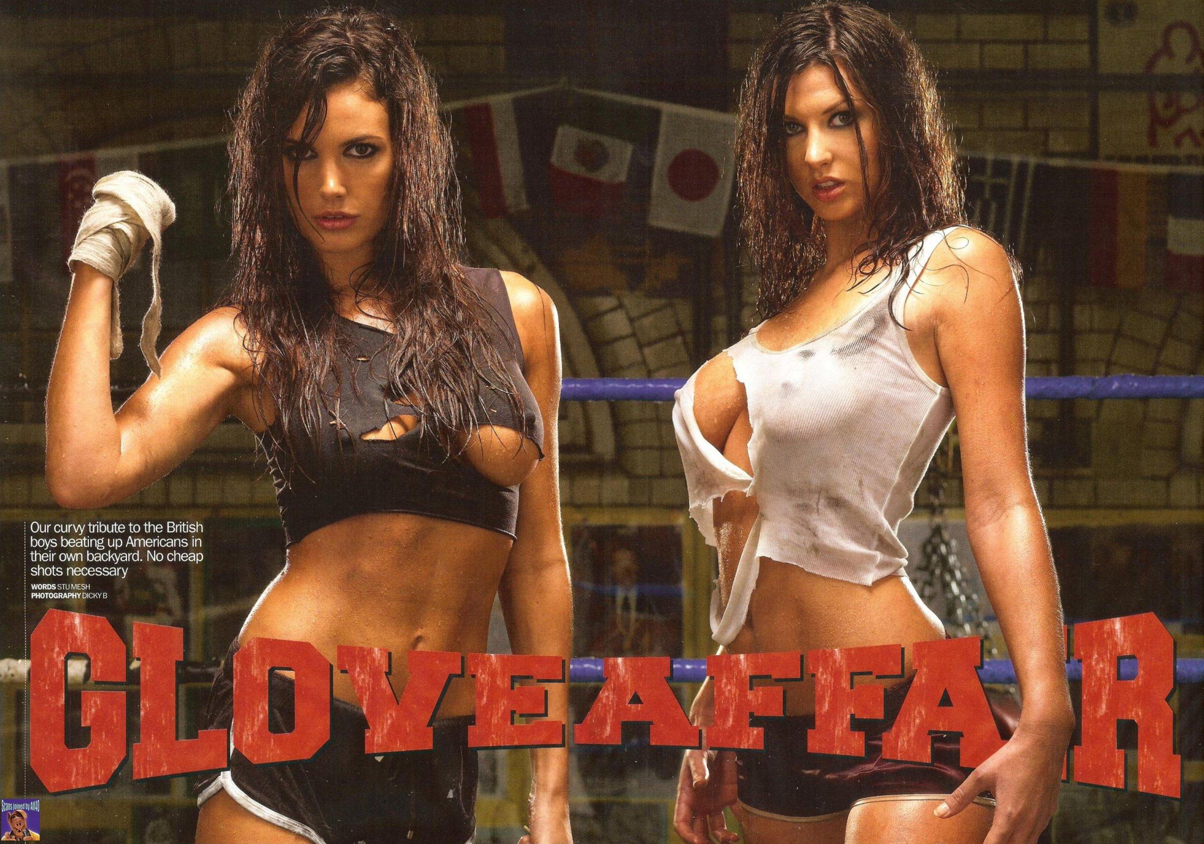 Сексуальный бокс женщин 23 фотография